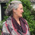 Brioche breipatroon shawl